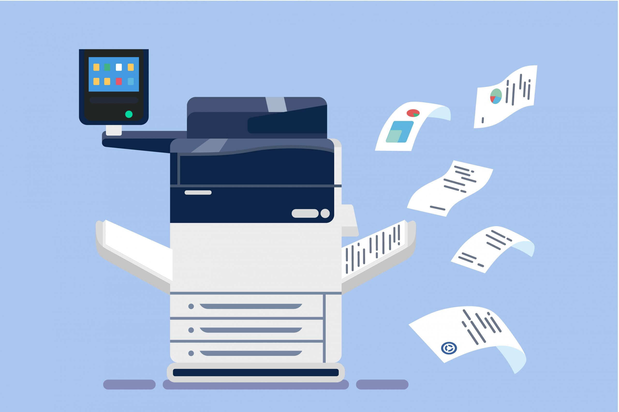 Consider Xerox For Your Printer Hire: The Smart Workplace Assistant